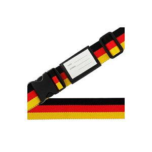 その他 スーツケースベルト ワンタッチベルト 国旗柄 ドイツ CMLF-1218685【納期目安:1週間】