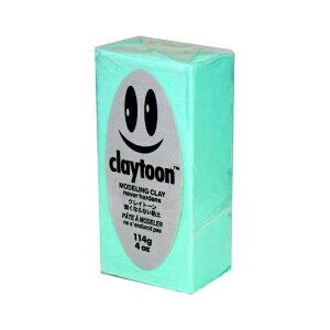 その他 MODELING CLAY(モデリングクレイ) claytoon(クレイトーン) カラー油粘土 ミント 1/4bar(1/4Pound) 6個セット CMLF-1549551【納期目安:1週間】