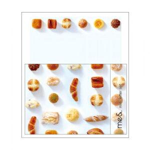 その他 me& ミニレターセット パン 5個セット MA1402 CMLF-1606366