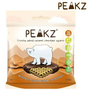 その他 PEAKZ ピークズ ヘルシーチョコスナック クランチーチョコ 塩キャラメル 10袋 10701003 CMLF-1646486