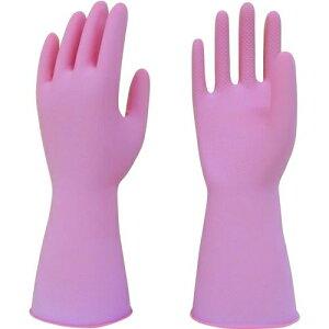 トラスコ中山 トワロン 天然ゴム手袋 天然ゴムうす手 ピンク S tr-2044022