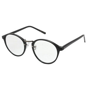 その他 RESA レサ 老眼鏡に見えない 40代からのスマホ老眼鏡 丸メガネタイプ ブラック RS-09-2 +2.00 CMLF-1096214【納期目安:1週間】