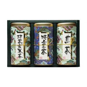 その他 宇治森徳 日本の銘茶 ギフトセット(抹茶入玄米茶100g・特上煎茶100g・煎茶シルキーパック3g×13パック) MY-30W CMLF-1610122【納期目安:1週間】