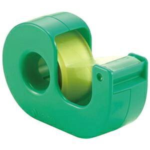 (まとめ)ニチバン セロテープ小巻カッター付 CT-18DCG 緑【×30セット】 ds-2378073