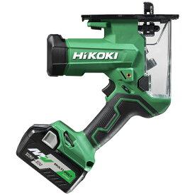 HiKOKI(日立工機) 【職人さん応援キャンペーン!!】18V コードレスボードカッター 石こうボード30mm 木工15mm 蓄電池1個・充電器・ケース付き CK18DA(XP)