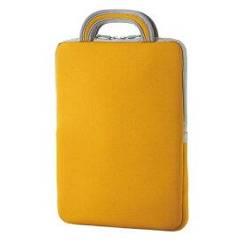 エレコム 子ども用 パソコンケース タブレットケース バッグインバッグ 耐衝撃 取っ手付き 小型 撥水 11.6インチ オレンジ BM-IBHPFV11DR