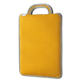 エレコム 子ども用 パソコンケース タブレットケース 取っ手付き スリップイン 薄型 軽量 11.6インチ 撥水 オレンジ BM-IBSIV11DR【納期目安:10/18入荷予定】