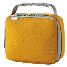 エレコム 子ども用 ガジェットケース アダプタケース 取っ手付き 撥水 ネームタグ カラビナ付属 ランドセル装着 オレンジ BMA-GP17DR