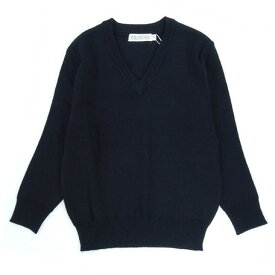 【スクール定番/AW】スクールセーター ウール混 学童(100cm〜160cm)