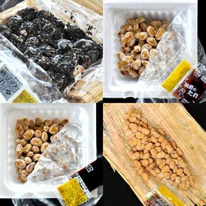 ちょっとだけ味見をしてみたい方にオススメ納豆!!4種類入ったたぬみせお試し1080円セット【入門編】