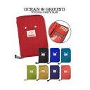 オーシャン&グラウンド 母子手帳ケース GOODAY_ocean&ground | マザーズバッグ マザーバッグ ママバッグ カードケー…