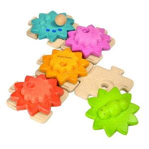 PLANTOYS プラントイ ギアパズルスタンダード 木のおもちゃ 知育玩具 木製玩具 リハビリ 指先運動 脳活 グッズ 室内遊び