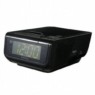 有WINTECH(WINTECH)警報的CD時鐘收音機CDC-210黑色