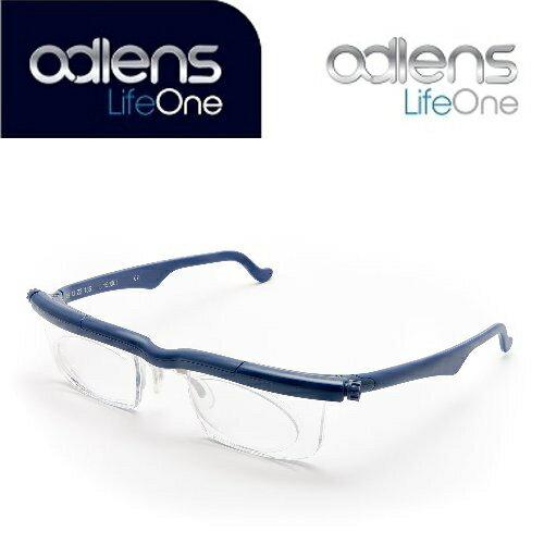 アドレンズ ライフワン ブルー adlens LifeOne 遠視・近視・老眼全対応の視力補正用眼鏡