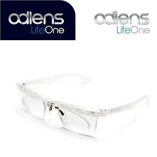 アドレンズ ライフワン クリアー adlens LifeOne 遠視・近視・老眼全対応の視力補正用眼鏡
