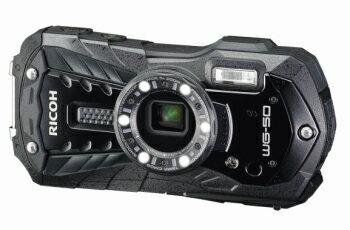 RICOH リコー 全天候型タフネスカメラ WG-50 ブラック