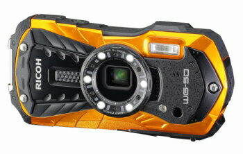 RICOH リコー 全天候型タフネスカメラ WG-50 オレンジ