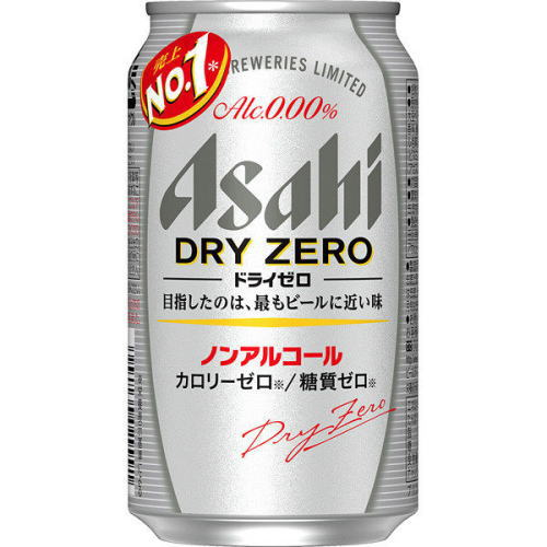 アサヒ ドライゼロ (350ml 24缶)ノンアルコールビール 4904230030010
