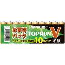 富士通 FDK アルカリ乾電池 単3形10個パック LR6(10S)TOPV ●40パック(400本)