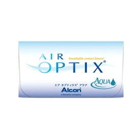 【6箱セット】【ネコポス発送・送料無料】エアオプティクスアクア 2週間使い捨てコンタクトレンズ 6枚入 6箱セット(2week/2ウィーク)(AIR OPTIX AQUA)