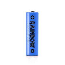 BPS RAINBOW 単3形充電池 ニッケル水素充電池(2100mAh)BPS-3NIJI 1Pブルー