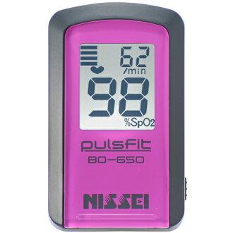 日本精密测量用具(NISSEI)  脉冲合身BO-650-11KPN(红色·粉红)