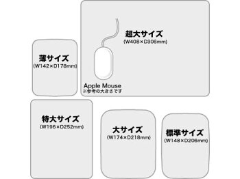 【送料無料】エアーパッドプロIII(史上最強のマウスパッド)特大サイズ/マットブラック(レーザー対応)PowerSupport(パワーサポート)PAG-91