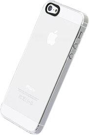 【ゆうパケット/ネコポス便発送 送料無料】POWER SUPPORT iPhoneSE iPhone5s/5 ハードケース(エアージャケットセット for iPhone 5/5S) クリア [パワーサポート] PJK-71