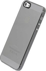 【ゆうパケット/ネコポス便発送 送料無料】POWER SUPPORT iPhoneSE iPhone5s/5 ハードケース(エアージャケットセット for iPhone 5/5S) クリアブラック [パワーサポート] PJK-73