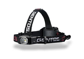 GENTOS LEDヘッドライト Gシリーズ [ANSI規格準拠 作業灯 防災 明るさ300ルーメン 実用点灯6時間 専用充電池式 単4電池も使用可 ANSI規格準拠] ジェントス GH-001RG [送料無料]