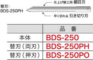 BDS-250PH ジェフコム ボードカッター用替刃(両刃タイプ)