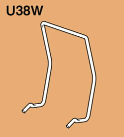 U38W ネグロス 軽みぞ形鋼・ダクターチャンネル交差金具(ダクター開口下向き用、20個入)