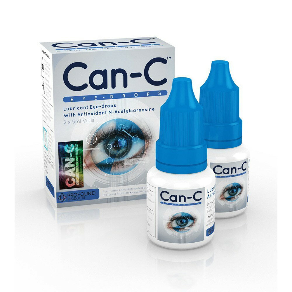 Can-C (キャンC) Eye-Drops vials by Profound Products 5ml × 2 / Nアセチルカルノシン(NAC)配合