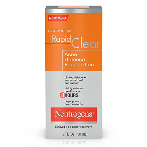 Neutrogena(ニュートロジーナ)Rapid Clear Acne Defense Face Lotion 50ml