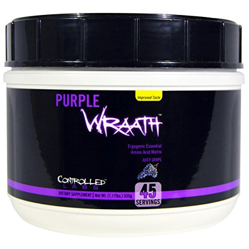 ●Controlled Labs Purple Wraath(パープルラース) ジューシーグレープ 535g