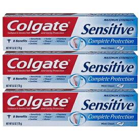 コルゲート Colgate センシティブ Mint Cleanホワイトニング 歯磨き粉 170g×3個セット / お得パック 【KM】