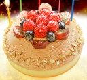チョコレートバースデーケーキ プレート キャンドル バースデー スイーツ