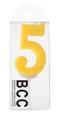 ナンバーキャンドル5