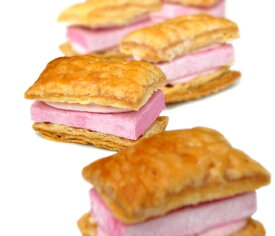 ぎもぱい フレンチ・チャッペ 12個入りあのギモーヴがパイになって新登場苺クリームも入って大満足!!ギモーヴ 生マシュマロ プレゼント パイ ギフト スイーツ お菓子