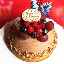 クリスマスケーキ 2020 予約 Xmas木苺のチョコレートクリスマスケーキ14cmxmasケーキ 4号 ケーキ スイーツ タルト チョコレートケーキ ギフト プレゼント お取り寄せ 大人 子供