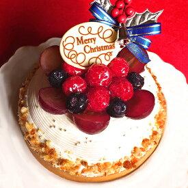 クリスマスケーキ Xmas 2020 予約木苺のホワイトクリスマスケーキ14cmxmasケーキ 4号 ケーキ スイーツ タルト ホールケーキ 苺たっぷり ギフト プレゼント お取り寄せ 大人 子供 かわいい インスタ映え お取り寄せスイーツ まるで贅沢なショートケーキみたい