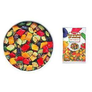 【冷凍】 カゴメ・菜園風グリル野菜のミックス600g