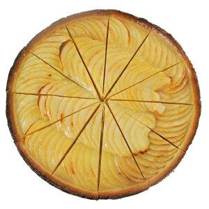 【冷凍】ポモーン アップルタルト 8号 750g (12カット)|誕生日|結婚式|バレンタイン|お祝い|クリスマス?リンゴ?林檎?apple?pomone