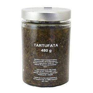 タルトゥファータ (黒トリュフソース) 480g ペースト パスタ パスタソース オムレツ 卵料理 高級 贅沢 イタリア