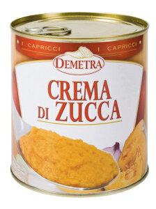 かぼちゃのクリーム830g Demetora crema di zucca| 調味料 ピッツァ ニョッキ リゾット