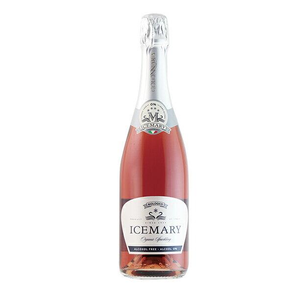 【よりどり6本以上、送料無料】有機JAS認定 Colonnara Icemary Rosso Sparkling NV 750ml