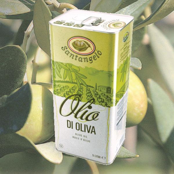 サンタンジェロ オリーブオイル (ピュアオイル) 5L缶 イタリア ラツィオ産