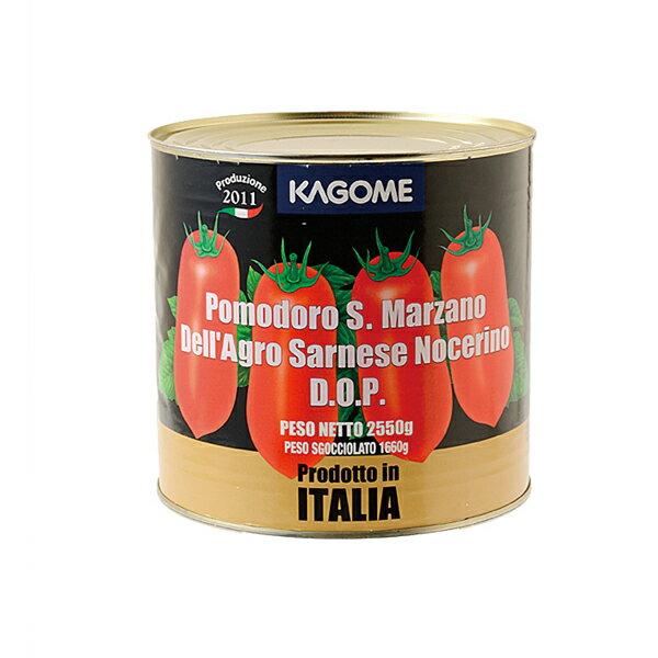 カゴメ サンマルツアーノ トマトホール #1 (2550g) 【1個口8缶まで】