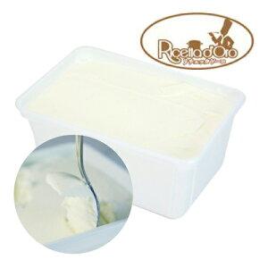【冷凍】リチェッタドーロ ジェラート フィオルディラッテ(ミルク味) 1kg | アイス ドルチェ デザート フィオルディラテ ジャージー 牛乳 ミルク