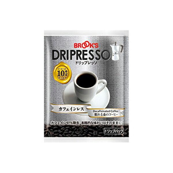 ドリップレッソ カフェインレス 眠れる森のコーヒー DORIPRESSO BROOKS ブルックス【16個までメール便対応】【DM便】【16P03Nove15】